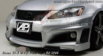 Lexus IS-F WLD Style Front Lip