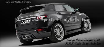 Range Rover Evoque HMN Wide Body Bodykits