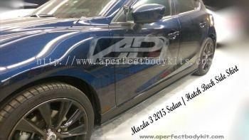 Mazda 3 2015 Knight Side Skirt
