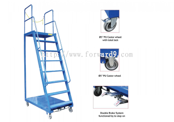 PC-BS-6 Ladder Trolley