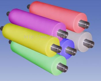 Silicone Roller Coating