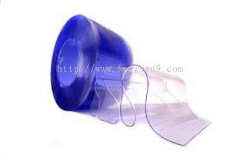 PVC Curtain Strip - Clear