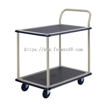 Prestar NB-114 Double Deck Single-Handle Trolley