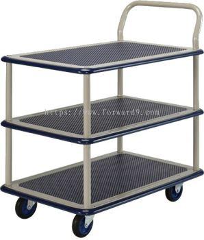 Prestar NB-115 Triple Deck Single-Handle Trolley
