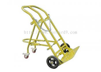 GCT200 Fold-Down Double Gas Cylinder Trolley