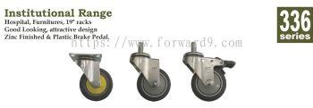 336 Series Polyurethane Medical Castor Wheel