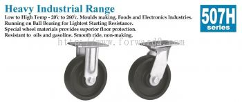 507H Series Top Plate Phenolic Castor Wheel