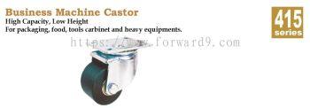 415 Series Top Plate Nylon Machine Castor Wheel