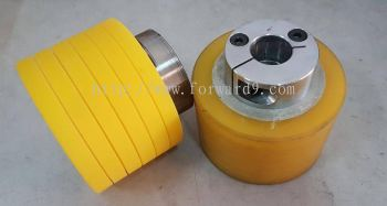 Polyurethane (PU) Roller Recoating c/w Grooving