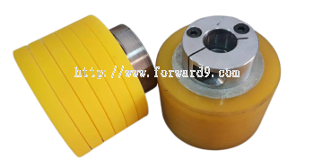 Polyurethane (PU) Roller Recoating c/w Grooving