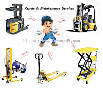 Repair & Maintenance Services of Reach Truck, Forklft , Pallet Truck , Stacker and etc
