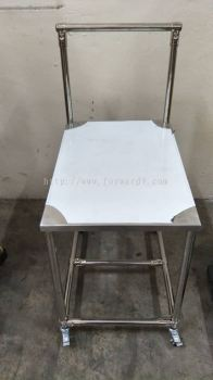 Stainless Steel Pipe & Joint Table Trolley