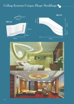 Ceiling Systems- Unique Shape Mouldings