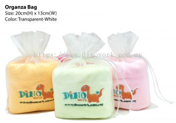 Microfiber Hand Towel with Organza Gift Bag