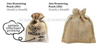 Jute Drawstring Bag J01 & J02