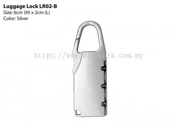 Luggage Lock 02B