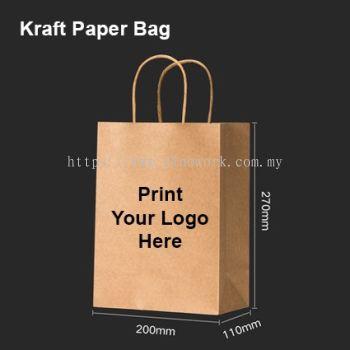 Kraft Paper Bag 20x27x11