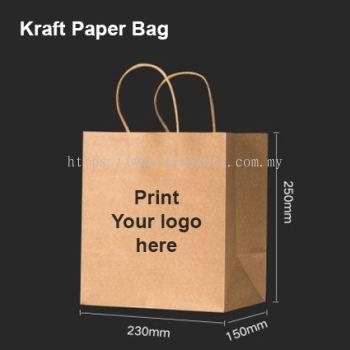 Kraft Paper Bag 23x25x15