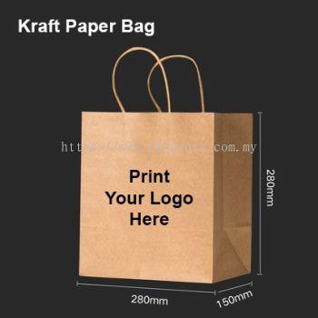 Kraft Paper Bag 28x28x15