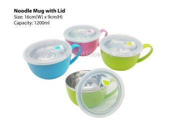 Noodle Mug with Lid