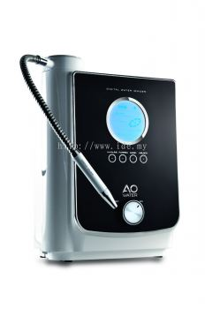 AO 701 Korean high-tech baked platinum and titanium 7 plates electrolysis chamber and ceramic membrane