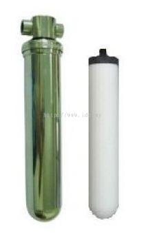 "10"" Undersink Stainless Steel Water Filter"
