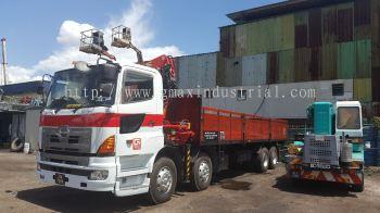 lorry crane services from johor to Melaka.Johor to Kuala Lumpur.