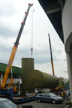 35T CRANE & 20T CRANE LIFT TANKS