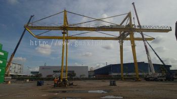 Dismantle Port Giant Overhead crane (70t 160t 40m skylift)