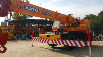 25t Rough terrain crane for rent in Johor and pengerang
