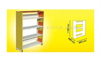 LS01 : Library Shelving