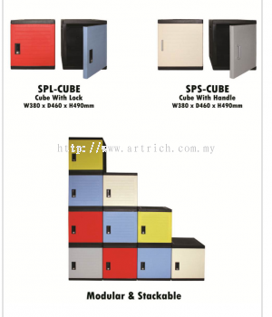 Plastic Cube