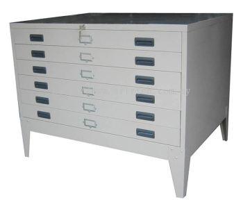 HPF-A1 -A0 Horizontal Plan File Cabinet
