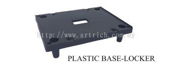 plastic base for locker