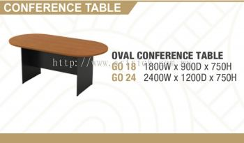 G-oval conference table