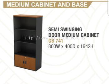 G-semi swinging door medium cabinet