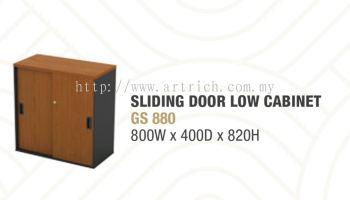 G-sliding door low cabinet