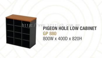 G-pigeon hole low cabinet