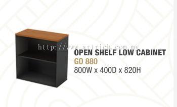 G-open shelf low cabinet