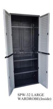 SPW-32 plastic wardrobe