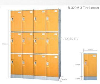 B320-M 3tier locker