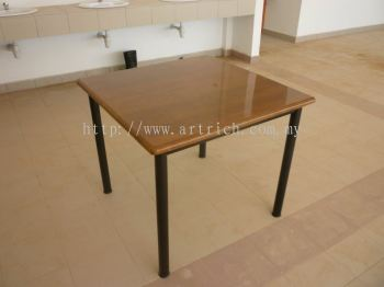 FRP Table Top with woodgrain colour