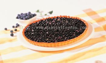 Whole blueberry tart
