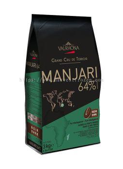 Valrhona Manjari Buttons (64%) 3kg pack