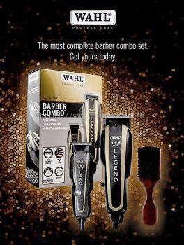 Wahl Barber Combo Legend+ Hero+ Wahl Fade Brush