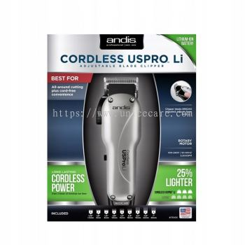 Andis Cordless USPRO Li Adjustable Blade Clipper
