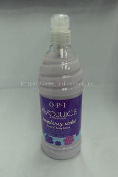 opi avojuice lotion 600ml raspberry violet