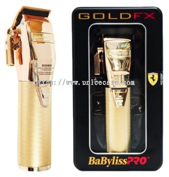 BaByliss PRO GoldFX Cordless Clipper FX870 Gold