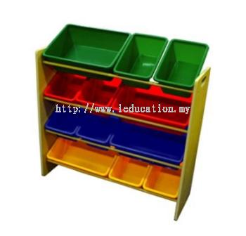 5608 MDF Shelf Storage Bins