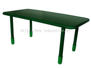 QM001 Rectangular Table Wt Adj Leg